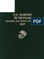 U.S. Marines in Vietnam Fighting the North Vietnamese 1967