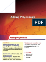 Adding of polynomials for canvas.ppt
