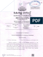 Kerala State List Of Holidays 2020