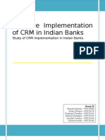 Group 22 CRM CRM in Indian Banks 1