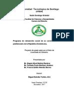 EJECUCIÓN DEL PROGRAMA DE REINSERCIÓN SOCIAL DE EX CONVICTOS, ultima correccion al 15 dic 2017.docx