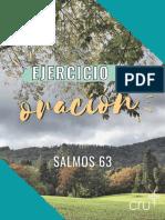Ejercicio de Oracion - salmos 63