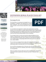 SUSTAINING RURAL PLACES TOOL KIT