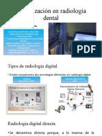 Actualización en radiología dental
