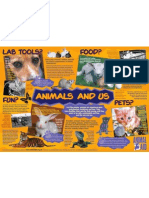 Animals and us