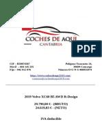 2019 Volvo XC60 B5 AWD R-Design - Coches De Aqui