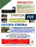 2020 Dantza-Musika Kartela