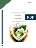 Resumen Gestión Medioambienta B