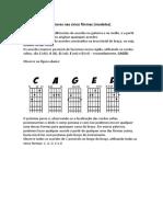 Sistema Caged para músicas