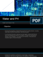 water and ph