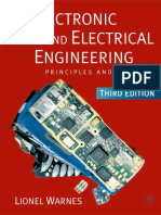 Electronic and Electrical Engineering Principles and Practice Third edition by Lionel Warnes
