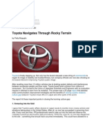 MMI - Toyota Blog (Ghost Written)