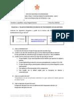 Taller No 3. Principios básicos deshidratación de Gas Natural (Guía 3 – Actividad 2)
