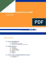 Brand Experience toolkit