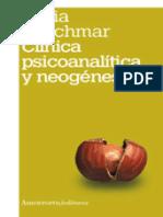 BLEICHMAR Clínica psicoanalítica y neogenesis (para U1)