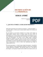 Andre Serge - La Significacion De La Pedofilia