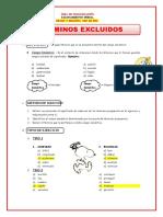 DEFINICIÓN DE TÉRMINOS EXCLUIDOS
