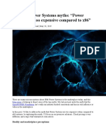 Top IBM Power Systems myths_Power Systems are too expensive compared to x86_May 2019.docx