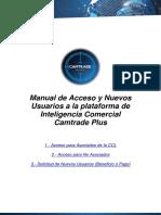 Camtrade Plus-Manual de Acceso y Solicitud