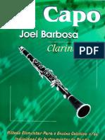 CLARINETE - MÉTODO - Da Capo - Joel Barbosa