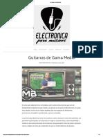 Guitarras de Gama Media