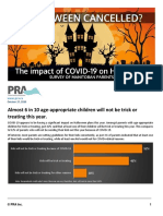 PRA Press Release - Survey With Manitoba Halloween Plans