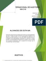 diapositiva  NIA 210
