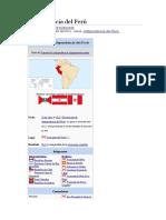 INDEPENDENCIA PERU