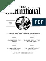 International - Rare Occult Newspaper from  04-18