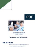 ADMON DE PROYECTOS 1