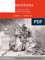 Robert C. Roberts - Emotions_ An Essay in Aid of Moral Psychology (2003)