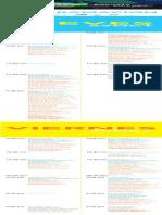 Programa Festival Cocuyo 2020