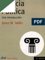 Josep-M-Valles-Ciencia-Politica-Una-Introduccion- Capítulo 1