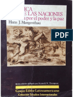 Hans-J-Morgenthau-Politica-Entre-Las-Naciones- Fragmento