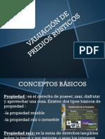 VALUACIÓN DE PREDIOS RUSTICOS (1)