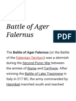 Battle of Ager Falernus