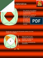 Cuadrado de lado 6 con cuatro cuartos de circuferencias y cuatro arcos en sus exteriores con centro en el semilado (Recuperado automáticamente)