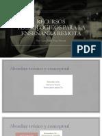 Lina Rosa Parra Libro Recursos tecnológicos para la enseñanza remota