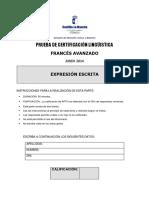 FRANCÉS_B2_ EXPRESION ESCRITA