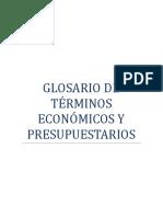 Glosario Presupuestario Final