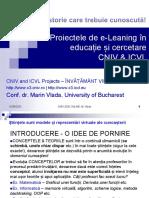 CNIV 2020 Online - Proiectele de e-Leaning în educație și cercetare CNIV & ICVL