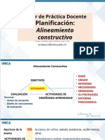 SESION 5. ALINEAMIENTO CONSTRUCTIVO DE LA CLASE