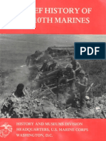A Brief History of the 10th Marines