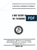 A Brief History of the 11th Marines