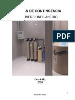INVERSIONES ANEDIG  PLAN DE CONTIGENCIA