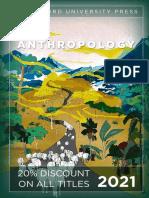 Stanford University Press   Anthropology 2021