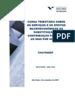 Estudo Carga Tributaria INSS CMF 2004 revisado
