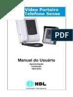 manual técnico vídeo porteiro HDL