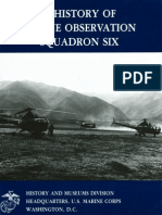 A History of Marine Observation Squadron Six