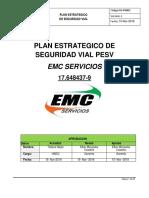 PLAN ESTRATEGICO DE SEGURIDAD VIAL EMC SERVICIOS.pdf